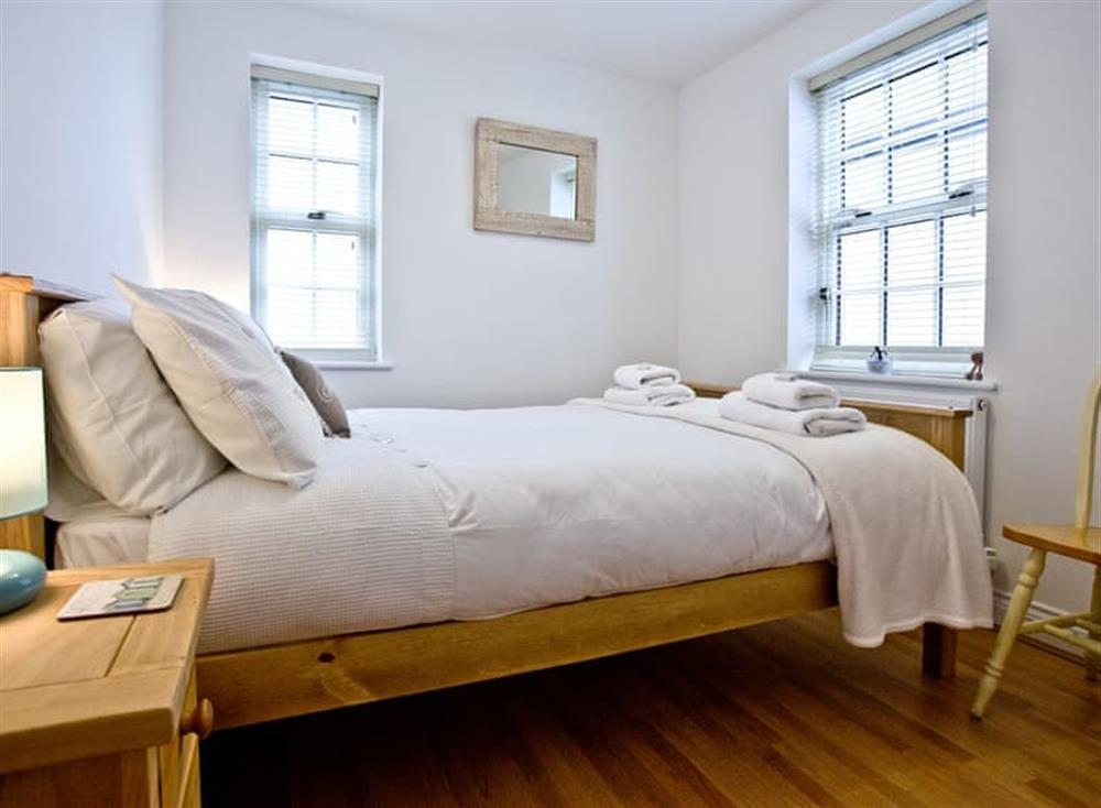 Double bedroom at 1 Captains Rest in , Brixham