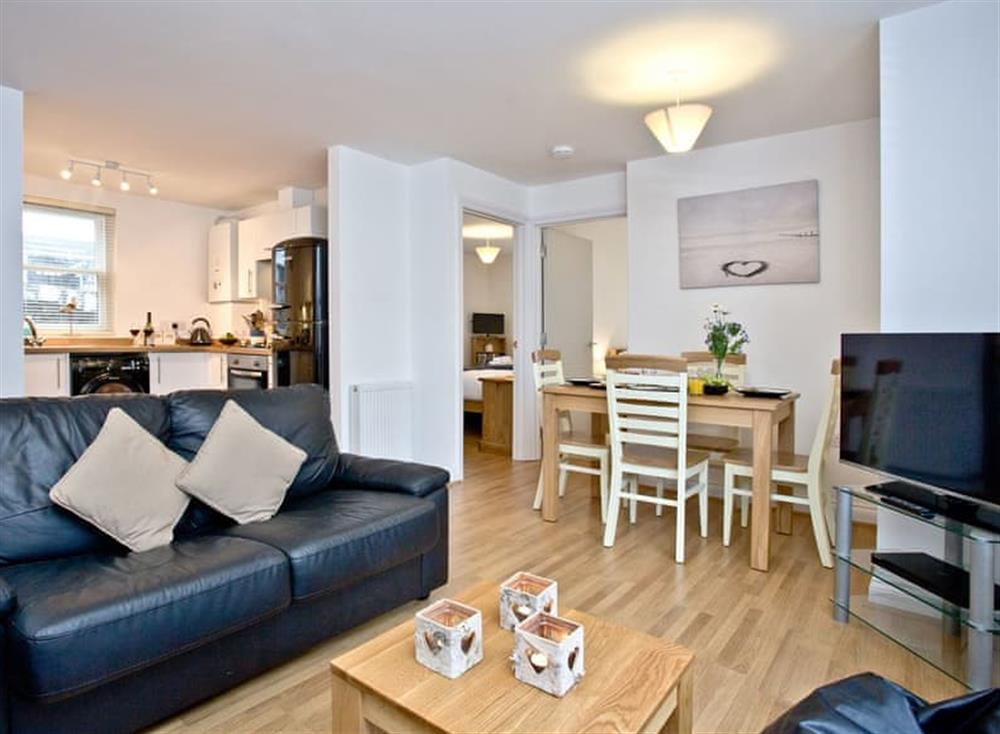 Open plan living space at 1 Captains Rest in , Brixham