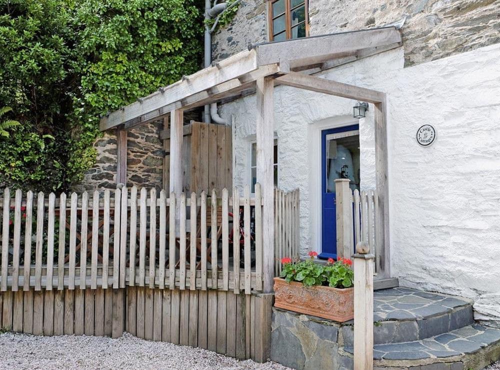 1 Castle Cottage at 1 Castle Cottage in Bow Creek, Nr Totnes, South Devon., Great Britain