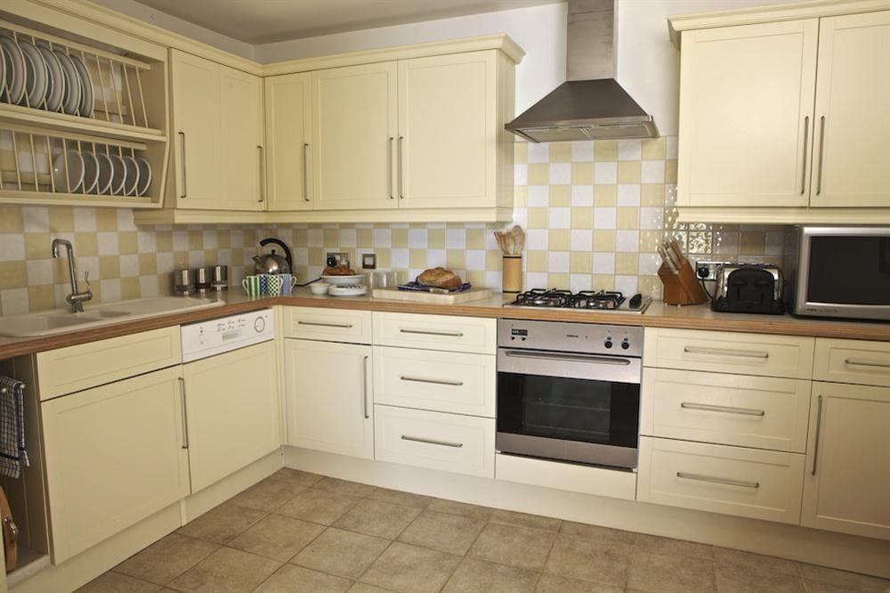 Fully fitted kitchen at 1 Galions Quay in , Dartmouth