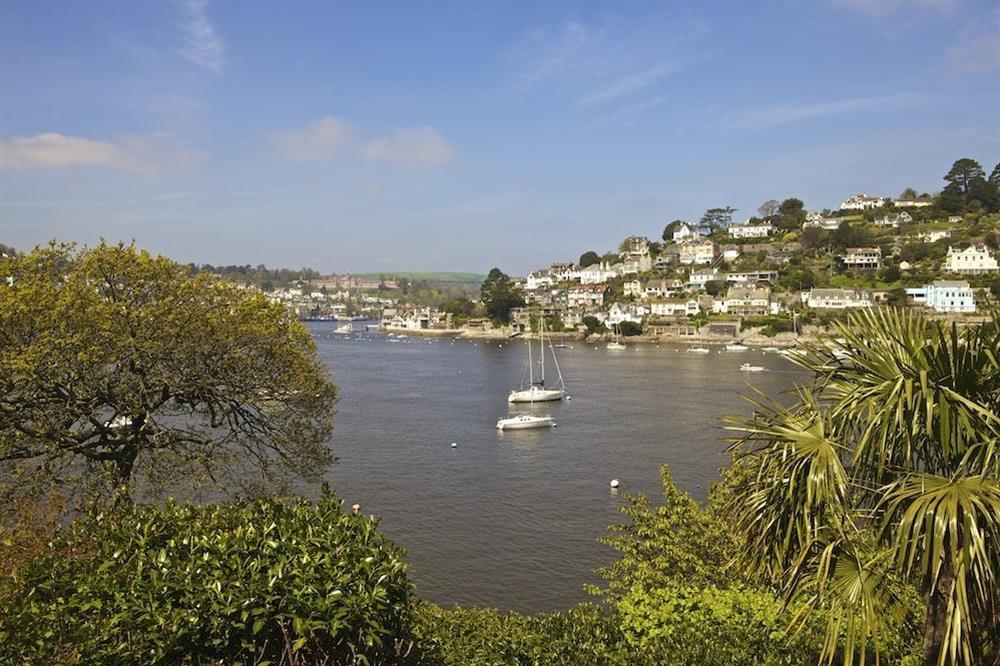 Superb water views with Dartmouth to one side and Kingswear on the other at 1 Galions Quay in , Dartmouth
