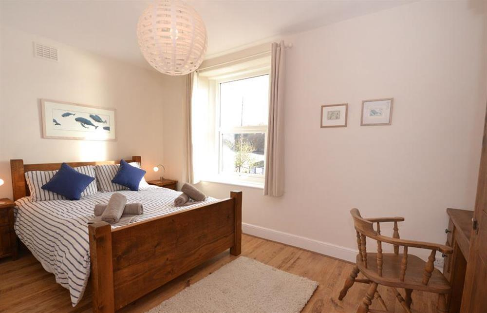 The double bedroom at 1 River View, Stoke Gabriel