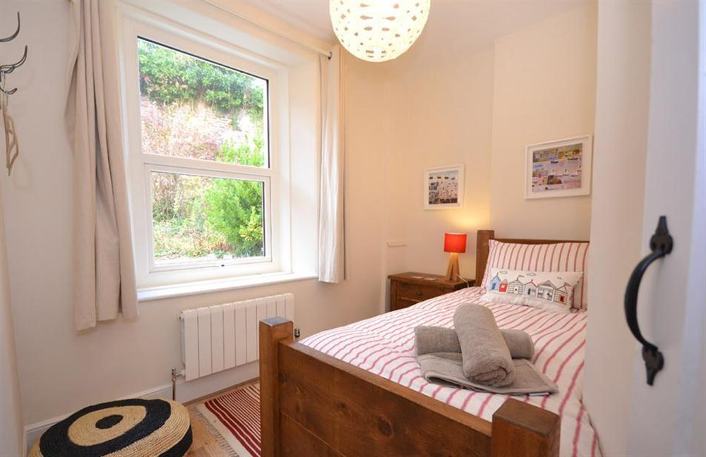 The single bedroom at 1 River View, Stoke Gabriel