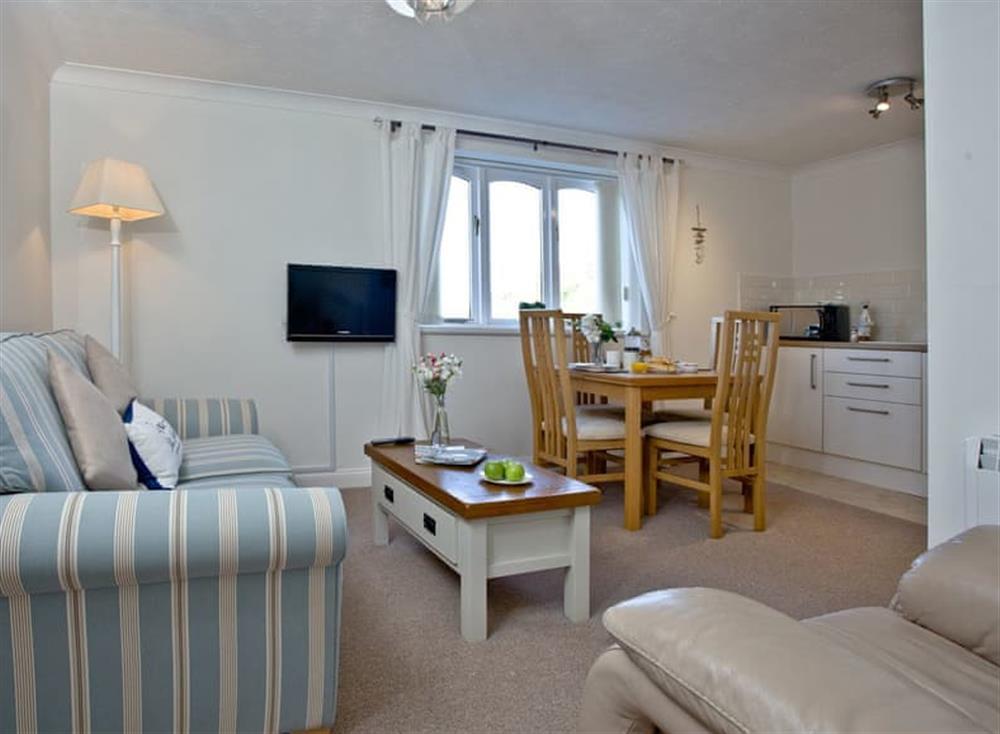 Open plan living space at 1 Riverside Wharf in , Dartmouth & Kingswear