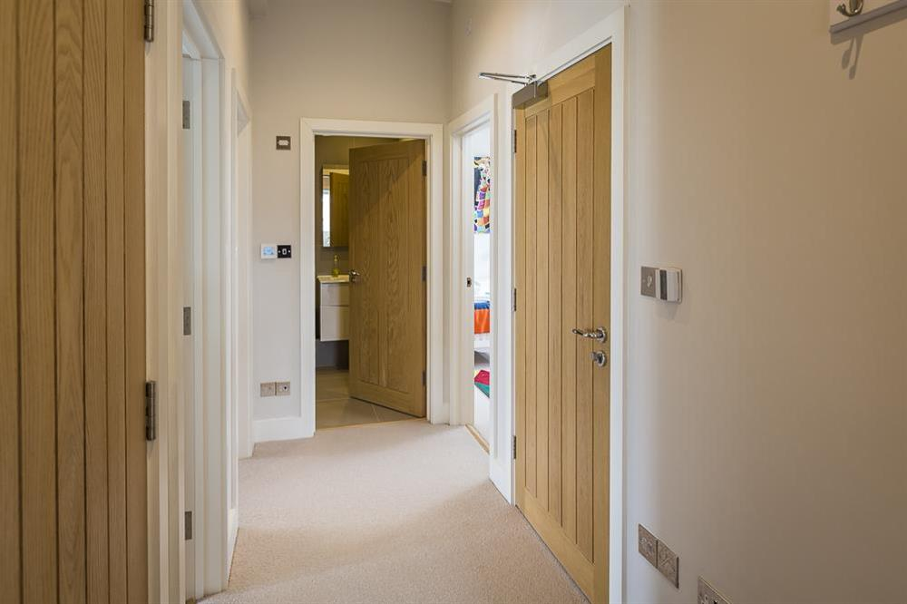 Entrance and hallway at 1 The Manor House, Hillfield Village in , Hillfield, Dartmouth