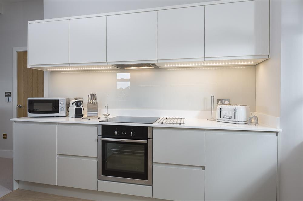 Superb, modern kitchen, fitted to the highest standards at 1 The Manor House, Hillfield Village in , Hillfield, Dartmouth