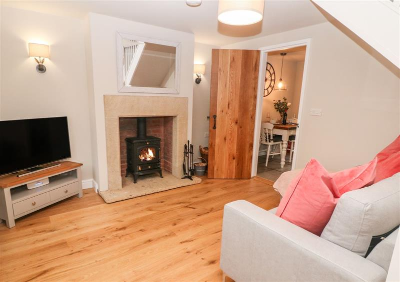 This is the living room at 1 Town Head, Longnor