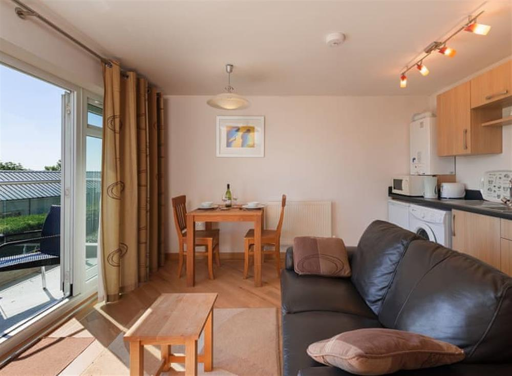 Open plan living space at 10 Red Rock in , Dawlish