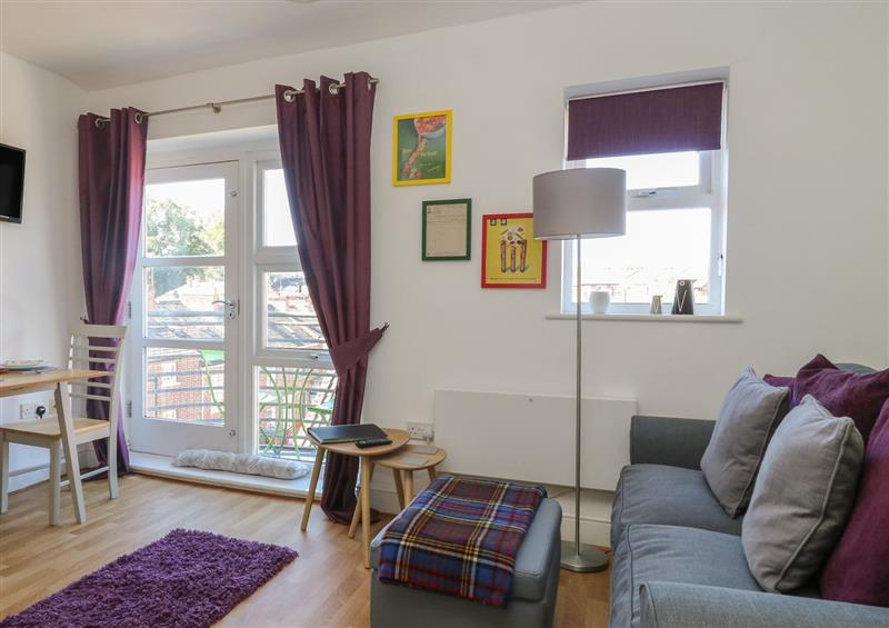 This is the living room at 12 Woodsmill Quay, York