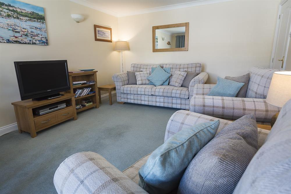 Comfortably furnished sitting room