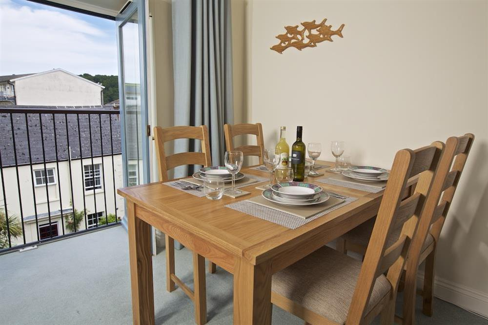 Dining table seating four