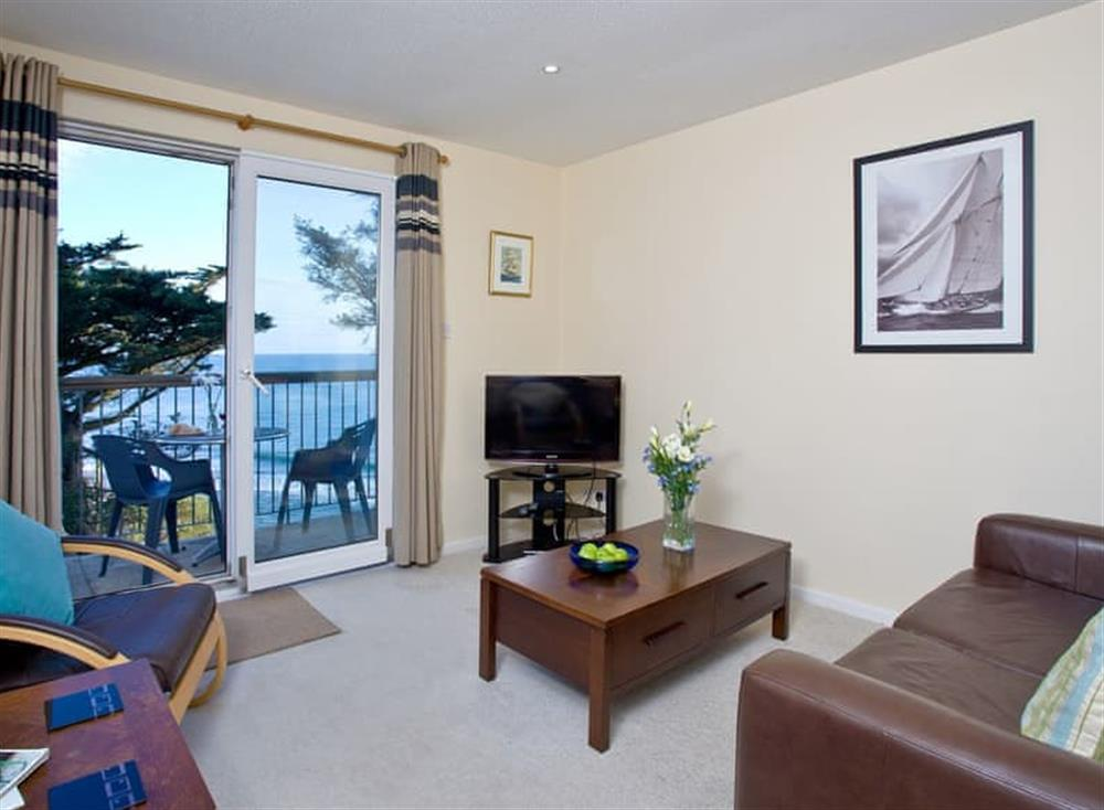 Living area at 14 Mount Brioni in Looe & Polperro, South Cornwall