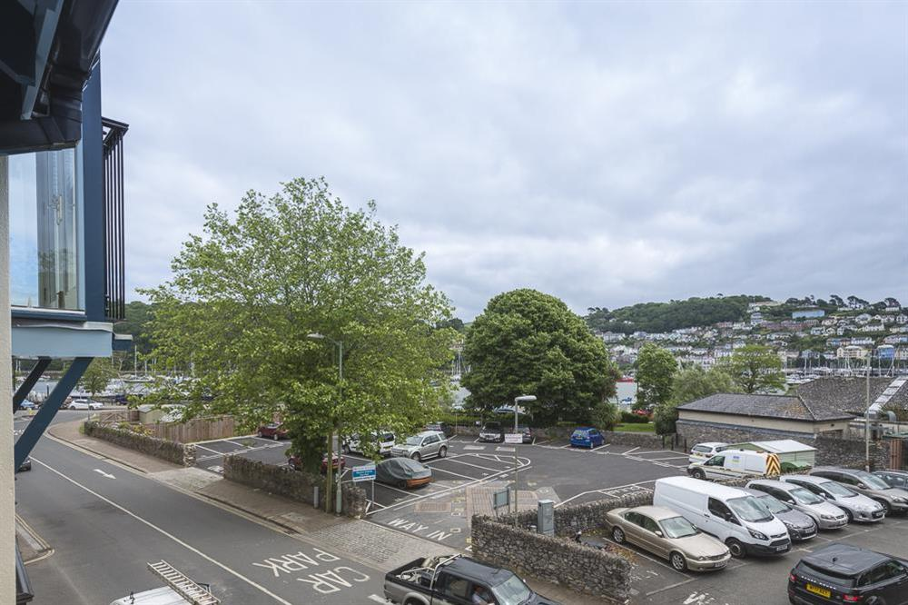 Views overlooking the Royal Avenue Gardens and across to the river at 16 Dartmouth House in , Dartmouth