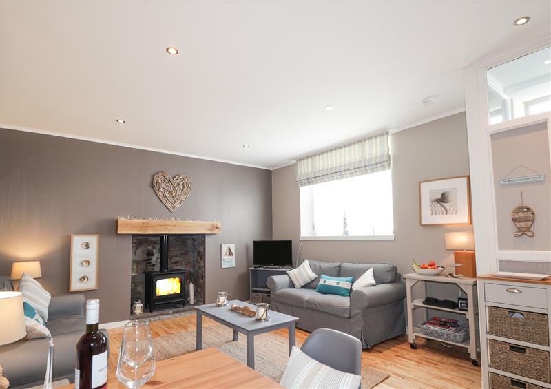 Enjoy the living room at 18b New Street, Portknockie