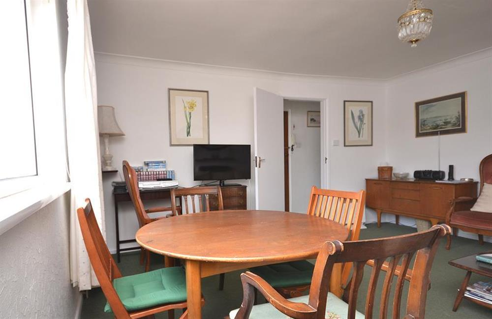 The dining area at 1B Mayflower Court, Dartmouth
