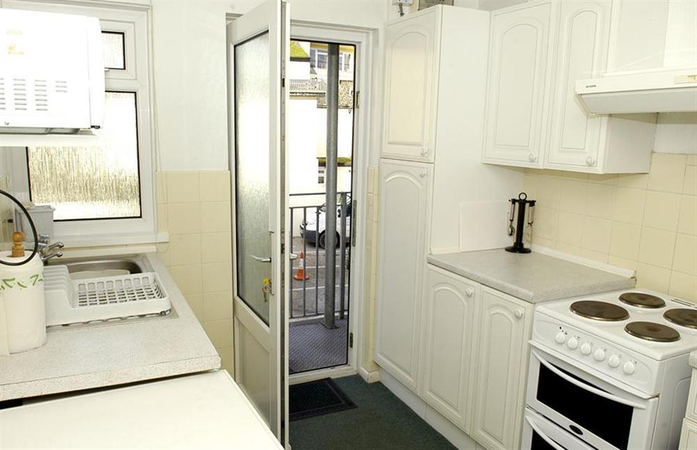 The kitchen at 1B Mayflower Court, Dartmouth
