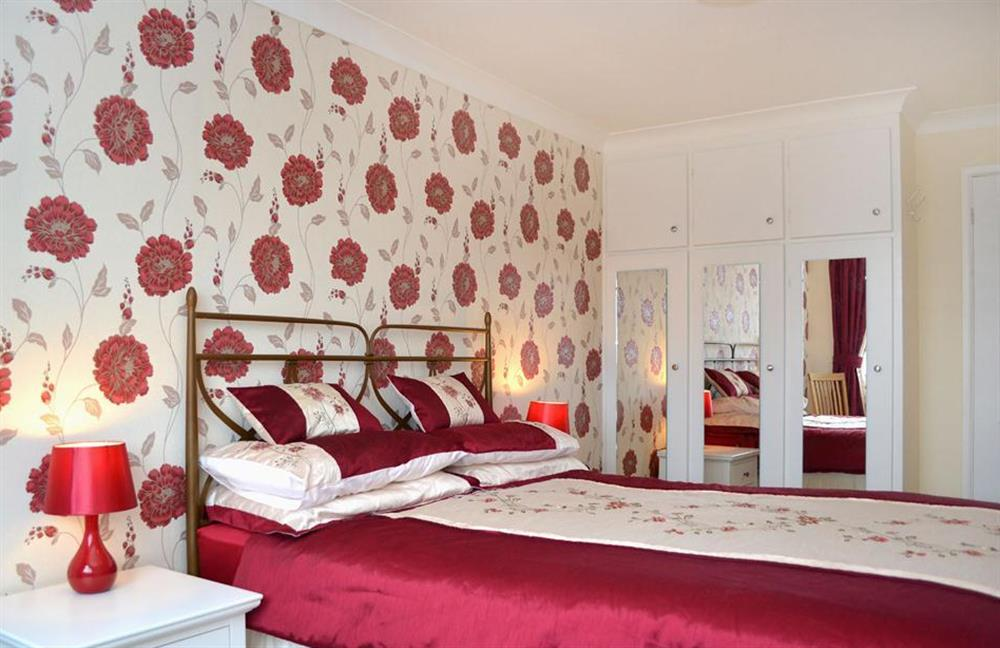 Another view of the double bedroom at 1C Mayflower Court, Dartmouth