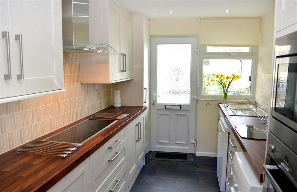 Another view of the new kitchen at 1C Mayflower Court, Dartmouth