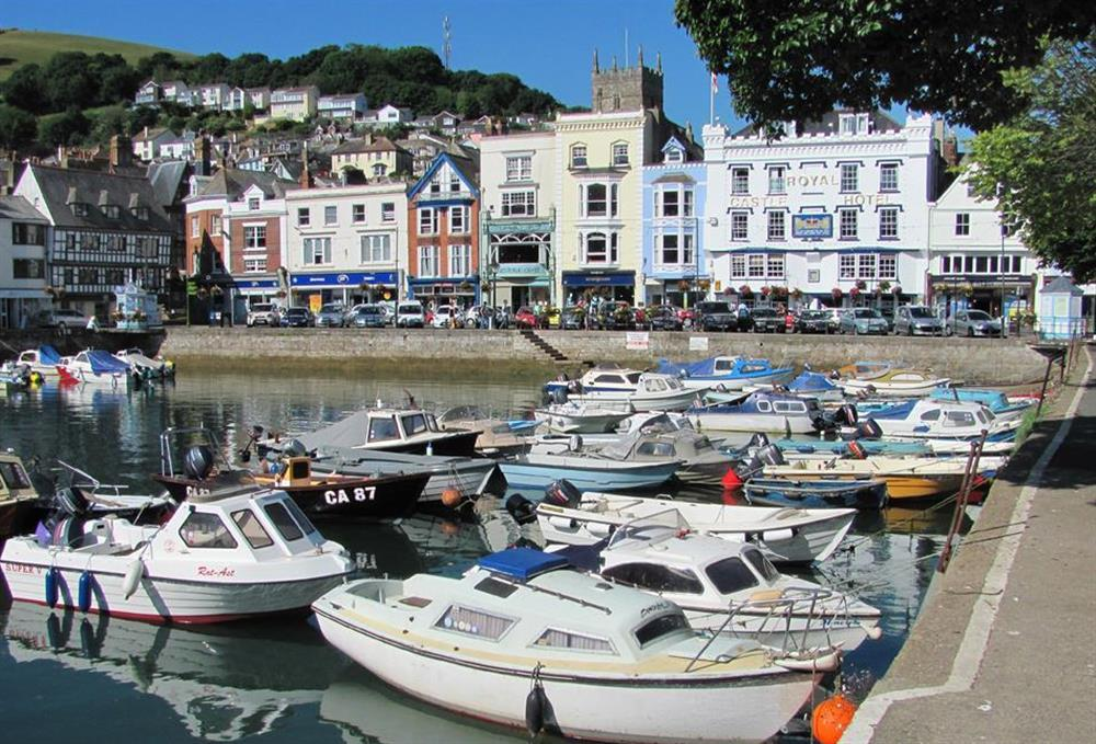 Moorings in Dartmouth harbour at 1C Mayflower Court, Dartmouth