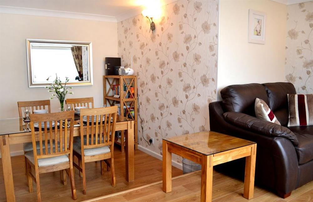The dining area at 1C Mayflower Court, Dartmouth