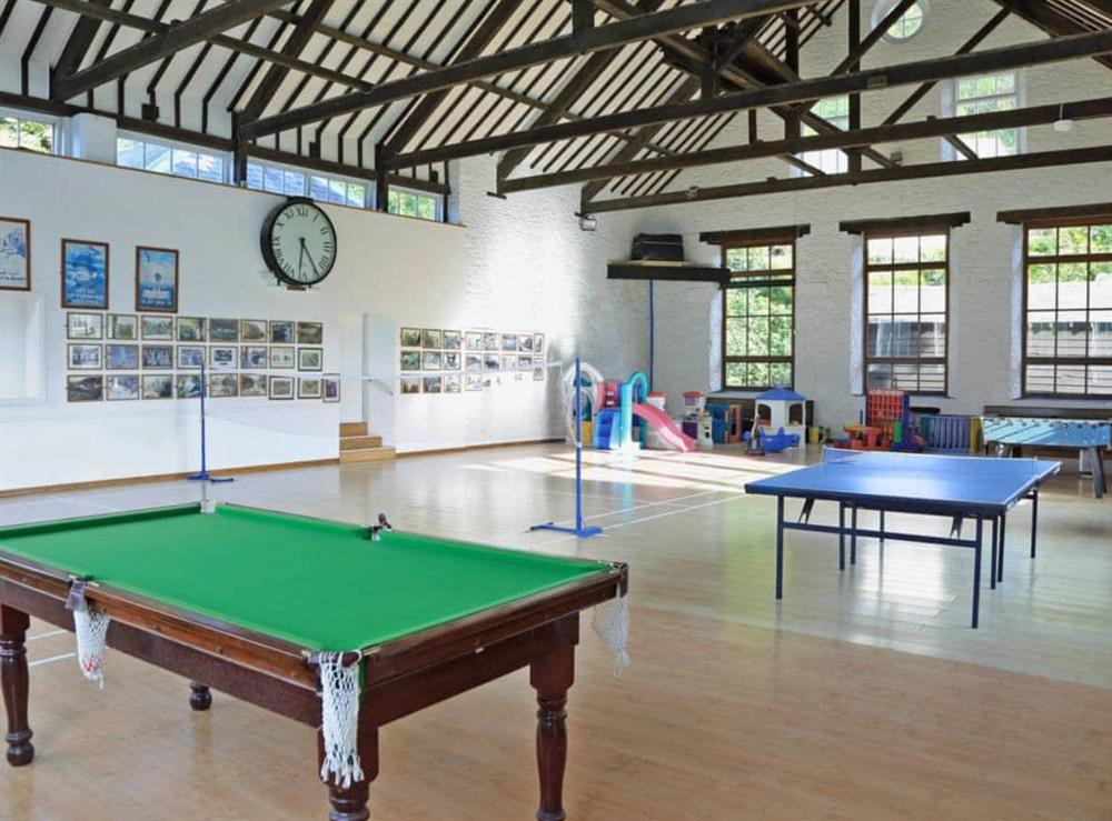 Indoor play area at 2 Castle Cottage in Bow Creek, Nr Totnes, South Devon., Great Britain