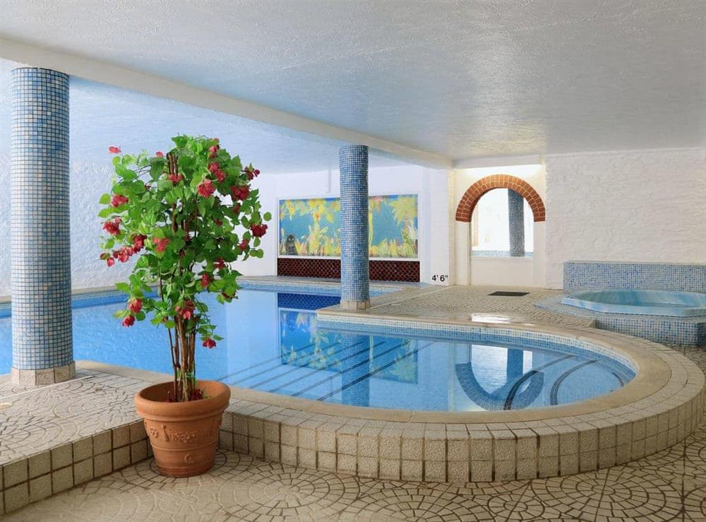The Roman Pool at 2 Castle Cottage in Bow Creek, Nr Totnes, South Devon., Great Britain