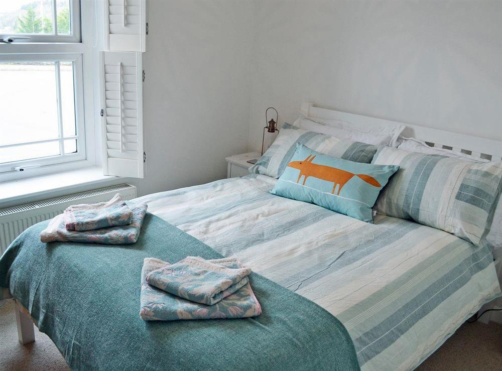 Charming double bedroom at 2 College View Lower Apartment in Kingswear, Devon