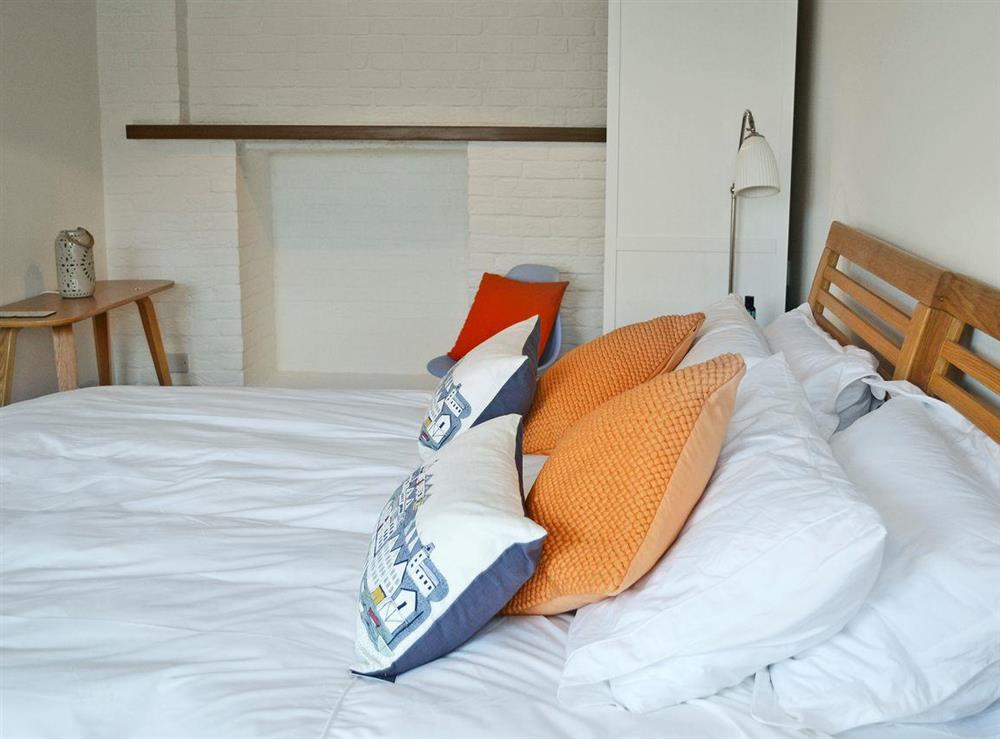 Tastefully furnished double bedroom (photo 2) at 2 College View Lower Apartment in Kingswear, Devon