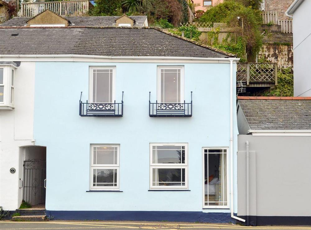 Exterior at 2 College View Upper Apartment in Kingswear, Devon