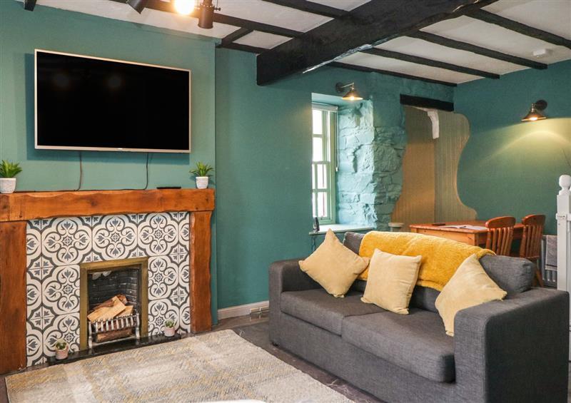 Enjoy the living room at 2 Fleet Street, Gatehouse Of Fleet