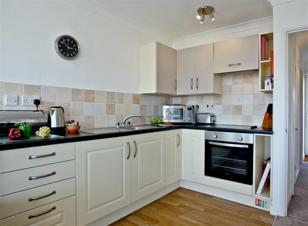 Kitchen at 2 Linden Court in , Brixham