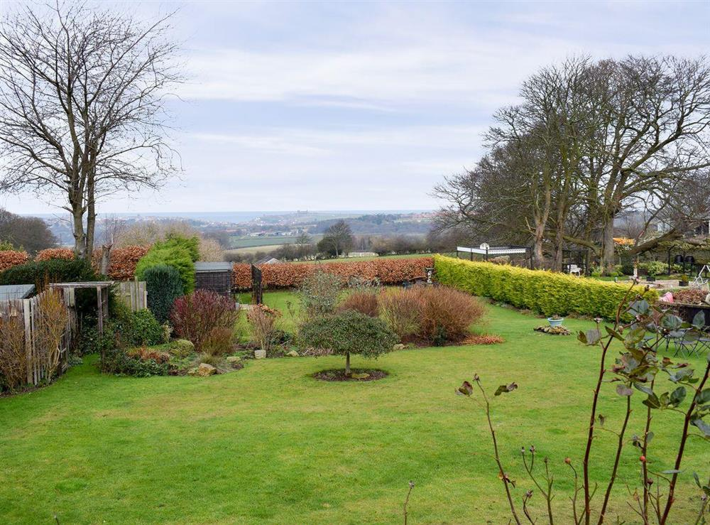 Superb views to the coast at 2 Sneaton Hall in Sneaton, near Whitby, North Yorkshire