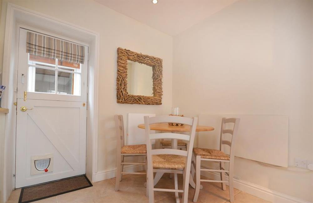 Space for 4 to dine at 2 South View Terrace, Slapton