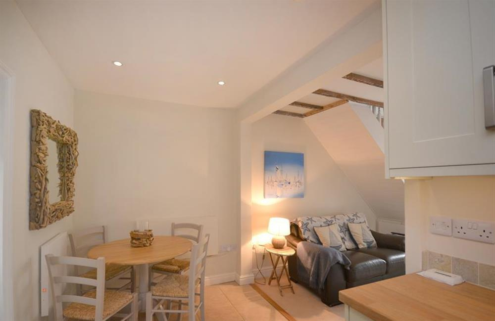 The dining area at 2 South View Terrace, Slapton