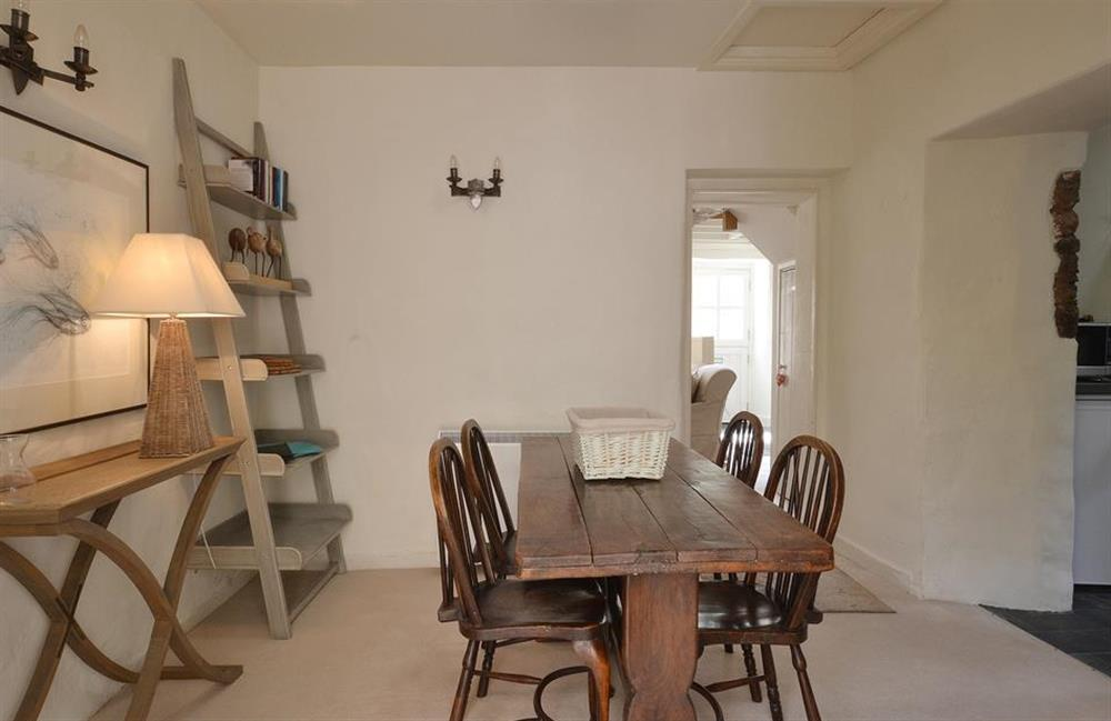 Another view of the dining room at 2 Vale Cottage, Slapton