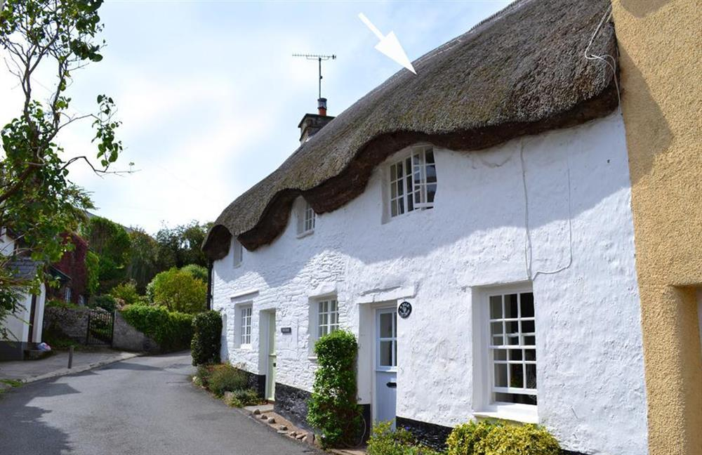 The cottage from the lane at 2 Vale Cottage, Slapton
