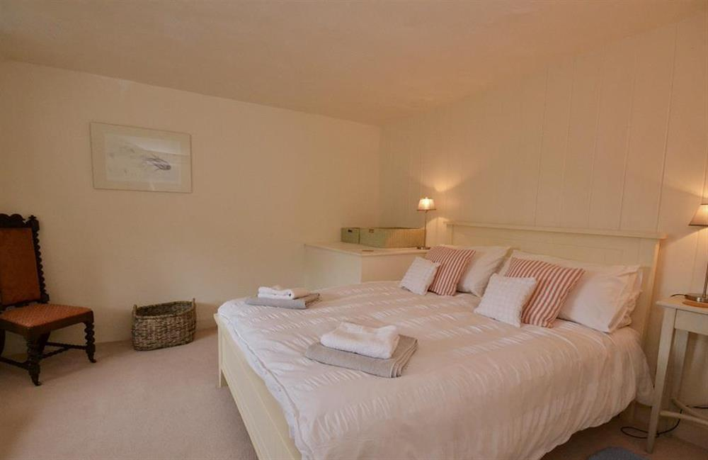 The double bedroom at 2 Vale Cottage, Slapton