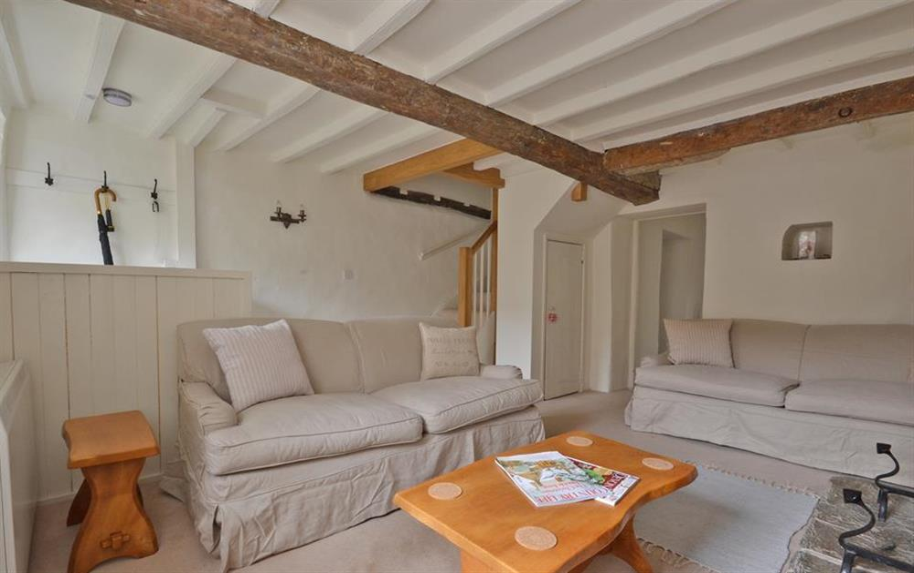 The sitting room again at 2 Vale Cottage, Slapton