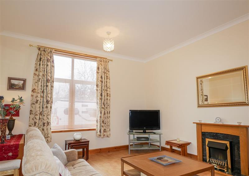 The living room at 2 Waterford, Grantown-On-Spey