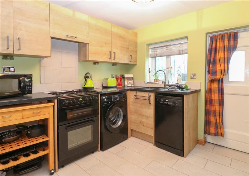 This is the kitchen at 21 Florence Road, Pakefield