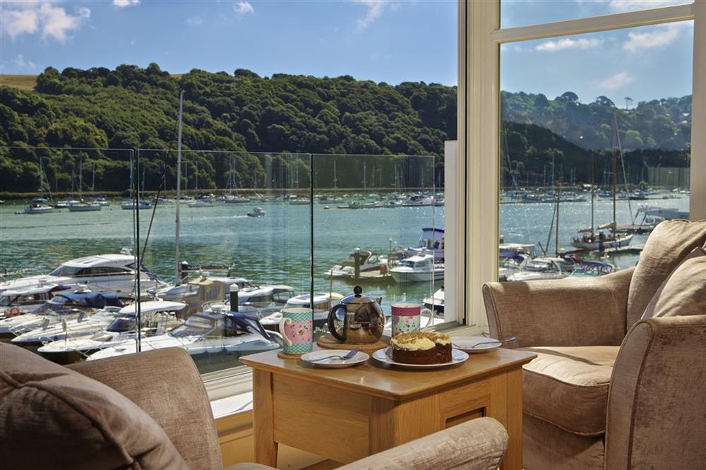 22 Dart Marina has stunning views across the River Dart at 22 Dart Marina in , Dartmouth