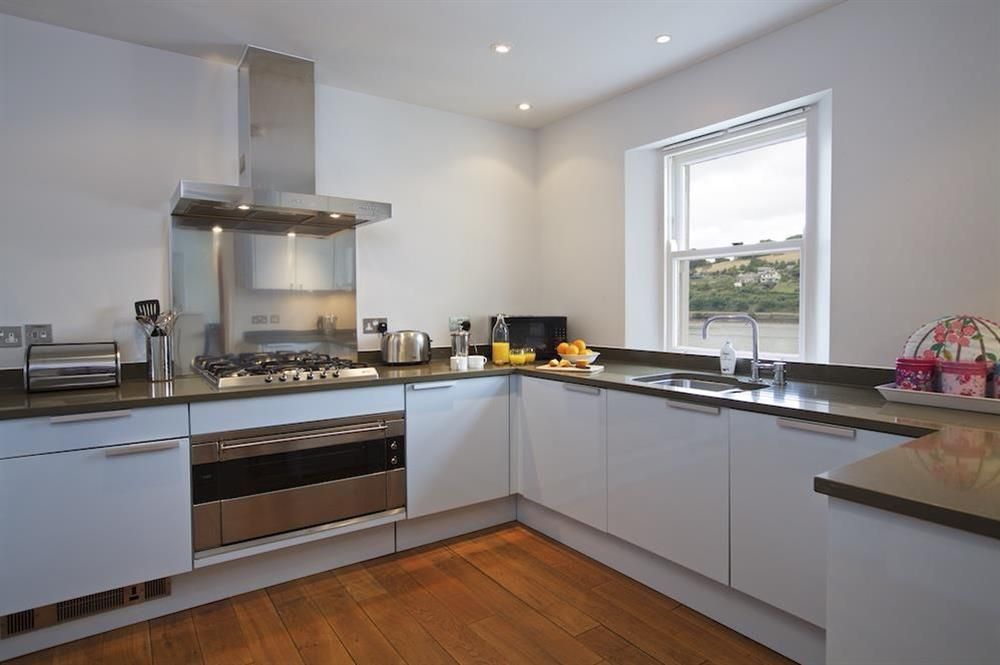 Stunning, state-of-the art kitchen at 22 Dart Marina in , Dartmouth