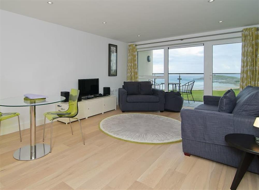 Open plan living space at 22 Ocean Gate in , Newquay