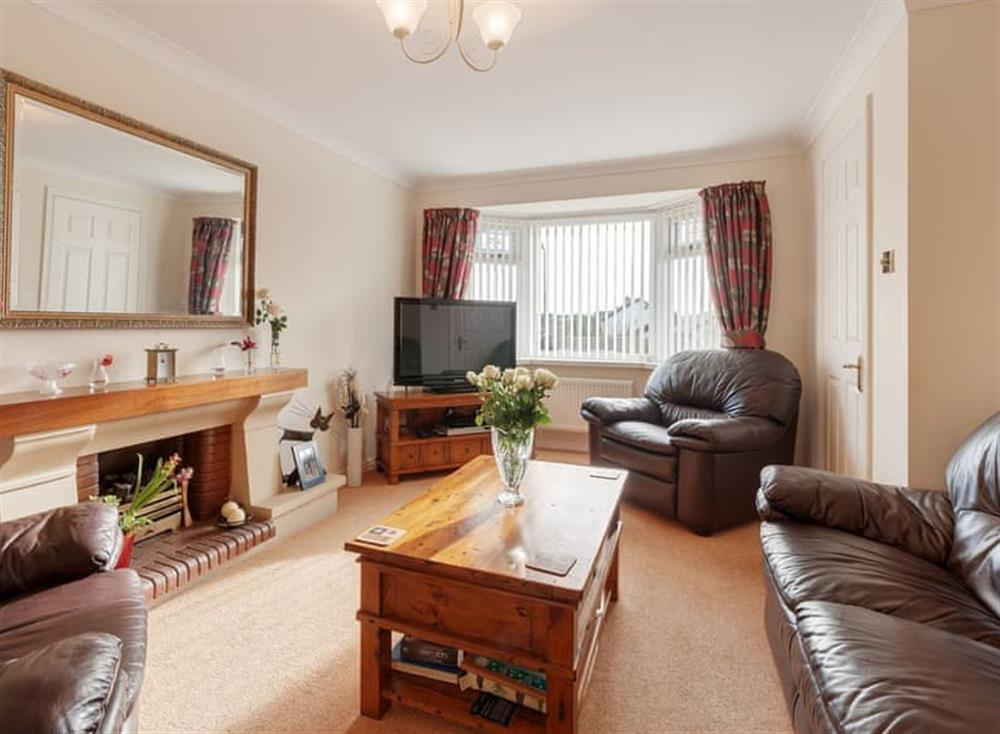 Living room at 24 Steed Close in , Paignton
