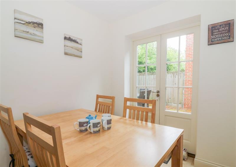 Dining room at 26 Burtons Mill, Stalham