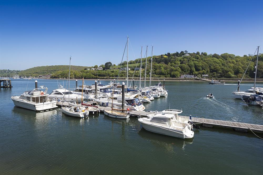 Terrace has lovely views up and down the river and across to Kingswear at 28 Dart Marina in , Dart Marina