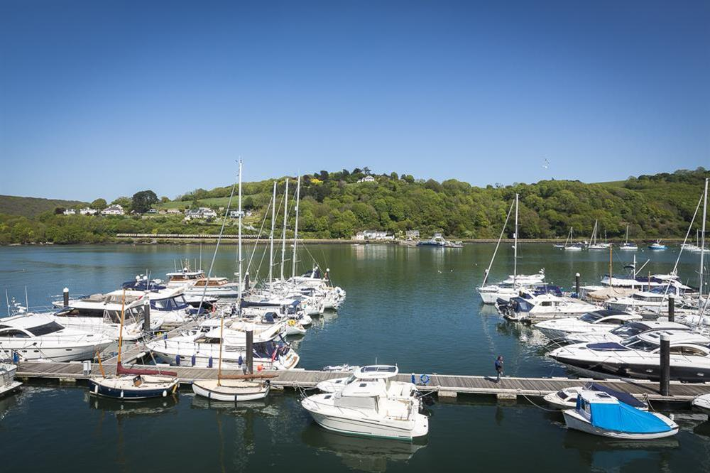 Views of the River Dart from the second floor at 28 Dart Marina in , Dart Marina