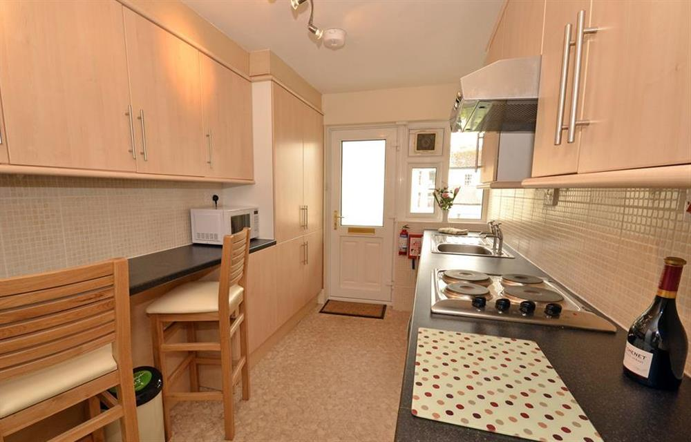 And another view of the kitchen at 2A Mayflower Court, Dartmouth