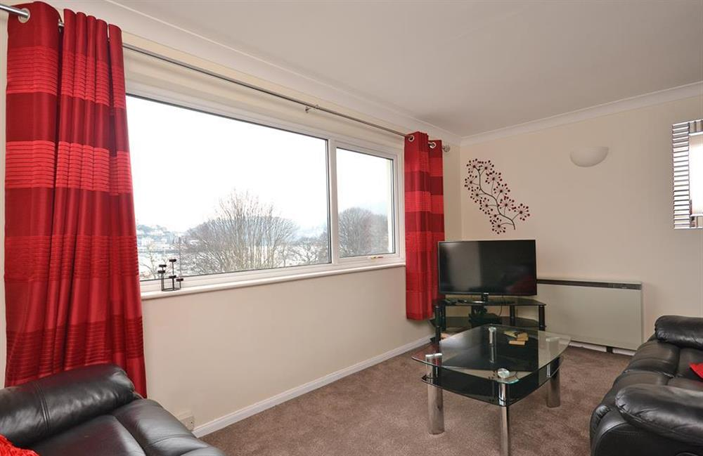 Another view of the living room at 2A Mayflower Court, Dartmouth