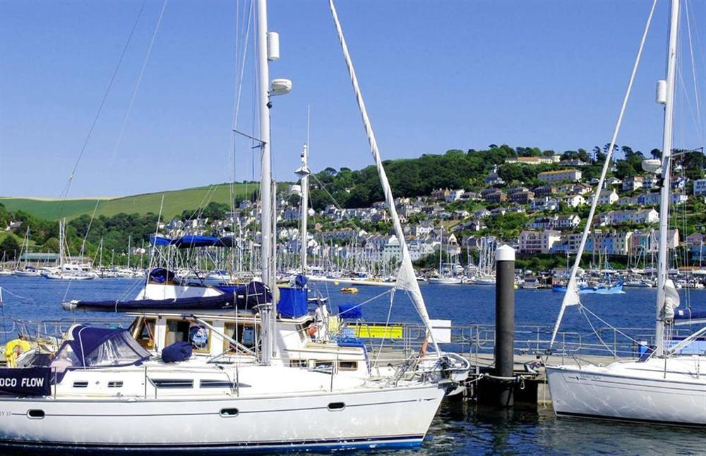 Boats and yachting, a great spectacle at 2A Mayflower Court, Dartmouth